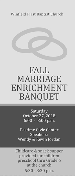 Fall Marriage Banquet