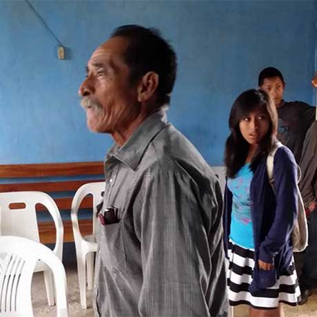 This is the Pastor at the Baptist mission in Los Pinos, Guatemala, where FBC Winfield has ministered.