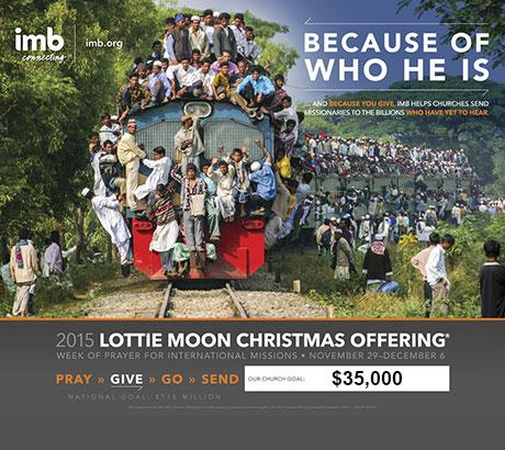 Lottie Moon 2016 Goal