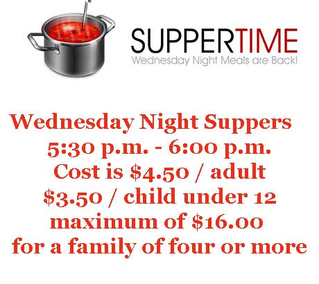 Wednesday Suppers
